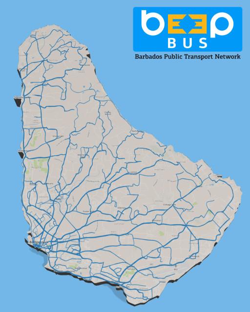 BeepBus | Barbados Public Transport Network